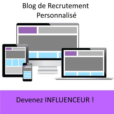 site web personnalise